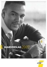 Jaarverslag 2007 - Publicaties - Vlaanderen.be