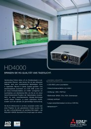 Download Datenblatt Mitsubishi HD4000