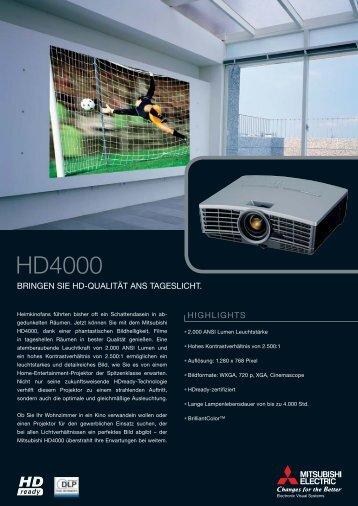 Download Datenblatt Mitsubishi HD4000