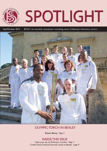 OLYMPIC TORCH IN BEXLEY INSIDE THIS ISSUE
