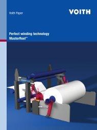 Perfect winding technology MasterReel™
