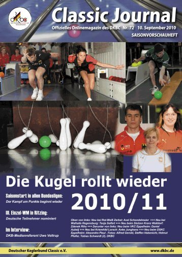 Classic Journal Online 72.2010 - Deutscher Kegler