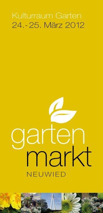 Kulturraum Garten 24.-25. März 2012 - Stadt Neuwied