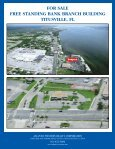 FOR SALE FREE STANDING BANK BRANCH BUILDING TITUSVILLE FL - Page 2