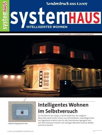 Intelligentes Wohnen im Selbstversuch - Werner Ostermann ...
