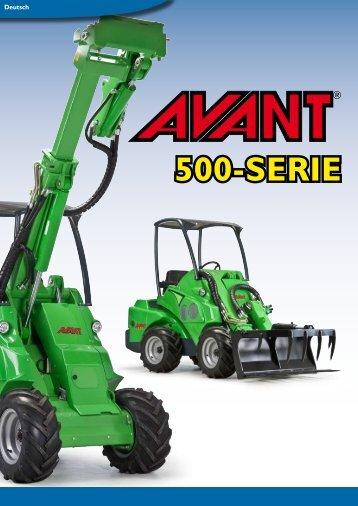 Die neue AVANT 500-Serie