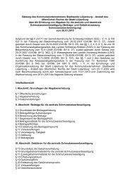 Für Schmutzwasser - Stadtwerke Lütjenburg