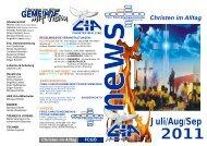 CIA-Gemeindebrief 2011-070809 - Christen im Alltag