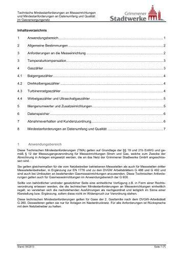 gemäß angeschlossen Anforderungen Rechtsverordnung