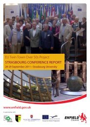 EU Twin Town Over 50s Project Strasbourg Conference Report