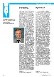 Bulletin 107/2013 - Schweizersche Konferenz der Stadt- und ...