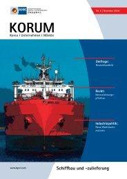 Schiffbau und -zulieferung - AHK Korea - AHKs