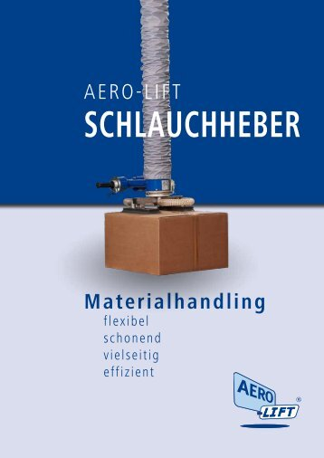 AERO-LIFT Schlauchheber Prospekt