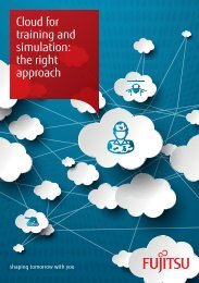 Cloud for training and simulation the right approach