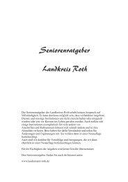 Seniorenratgeber Landkreis Roth - look out   easyCatalog