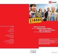 Mit dem Niedersachsen-Ticket. NEU: 1 Person für 21 Euro ... - Roemer