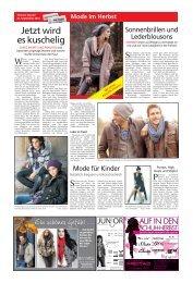herbst mode - Haller Tagblatt