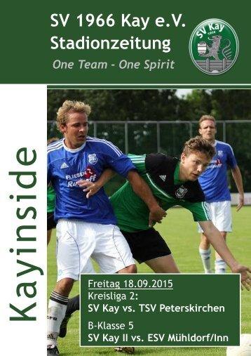 3 Stadionzeitung vs. Peterskirchen u. Mühldorf