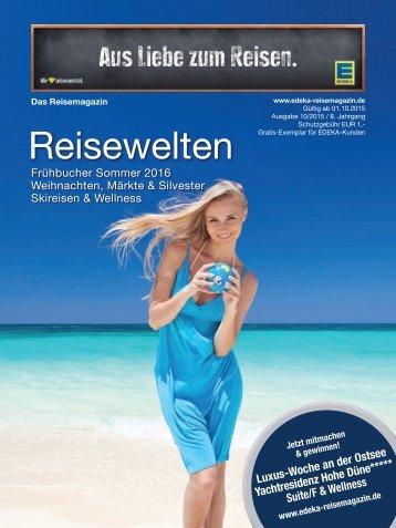 Edeka Reisemagazin Reisewelten
