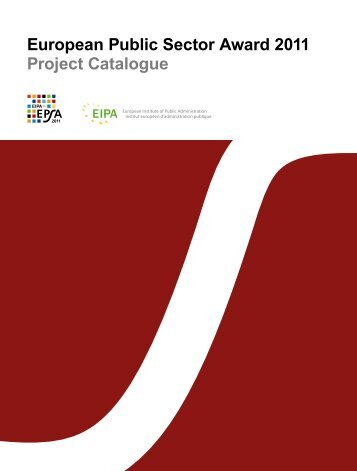 European Public Sector Award 2011 Project Catalogue
