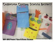 Cazenovia Central School District
