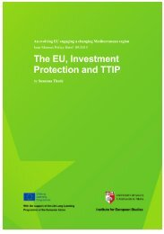 Protection and TTIP