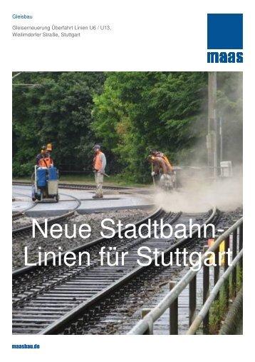 Linien für Stuttgart