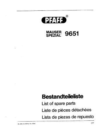 Mauser Spezial 9651