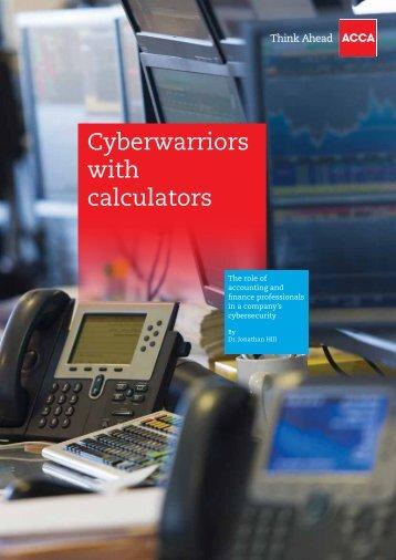 Cyberwarriors with calculators