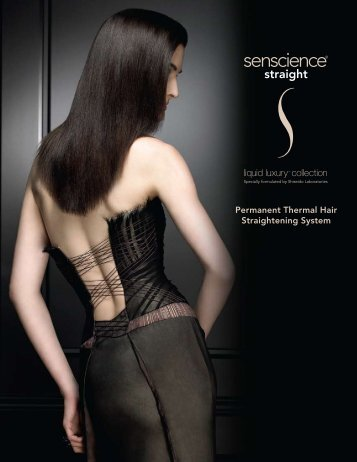 Permanent Thermal Hair Straightening System - senscience