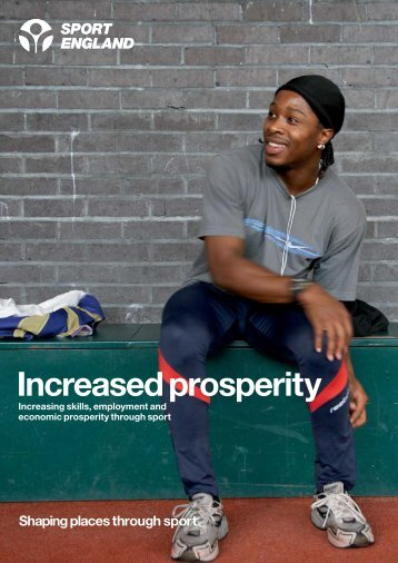 Increased prosperity
