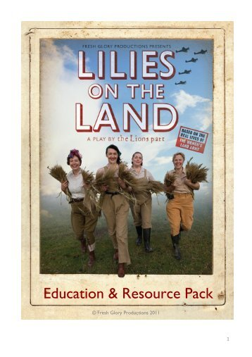 Education & Resource Pack - Theatre Royal Margate