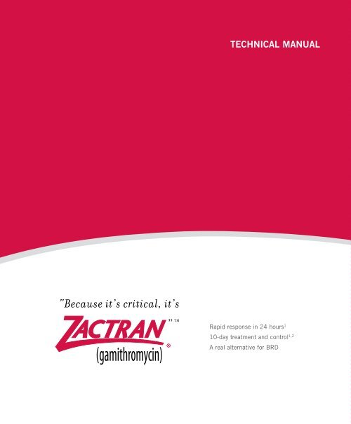 TECHNICAL MANUAL