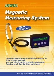 Magnetic measuring system is specially designed for linear - Polymak