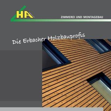 zimmerarbeiten - Haggenmüller + Aierstock