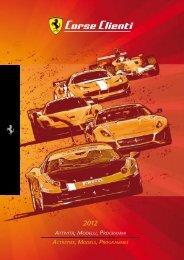 The 2012 season - Ferrari Corse Clienti