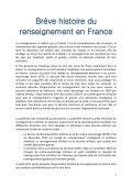 Brève histoire du renseignement en France - Page 3