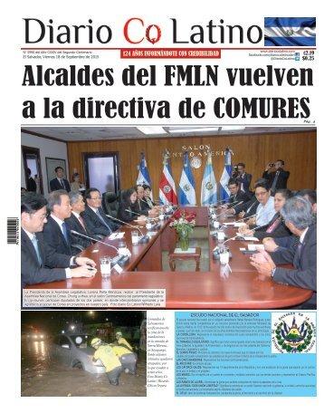 Edición 18 de Septiembre de  2015