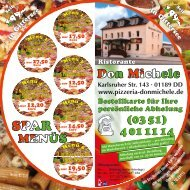 Karlsruher Str. 143.01189 DD - Pizzeria Don Michele
