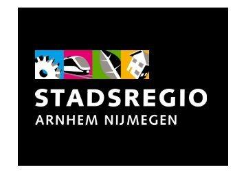 Presentatie gezamenlijk commissies Stadsregio Arnhem Nijmegen