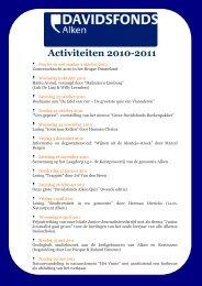 programma-brochure 2010-2011 - Davidsfonds