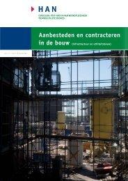 Aanbesteden en contracteren in de bouw