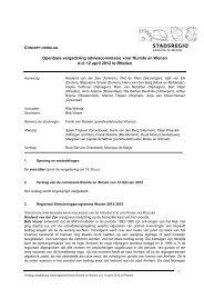 Verslag commissie Ruimte & Wonen - De Stadsregio Arnhem ...