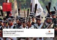 De Slag om Ruimtelijk Nederland Wie neemt de regie?