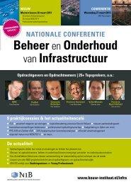 Beheer Onderhoud Infrastructuur