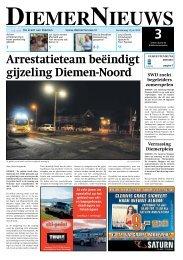 Arrestatieteam beëindigt gijzeling Diemen-Noord - DiemerNieuws