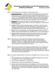 gewijzigde kapreglement voor het grondgebied van de gemeente ...