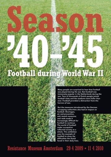 Football during World War II