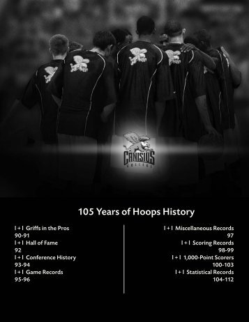 105 Years of Hoops History