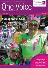Fun at Mardi Gras New craft room at Quaker Court Ladies Day in Three Counties